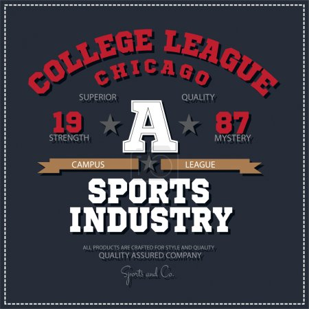 Sport athletic champions college league Chicago lo...