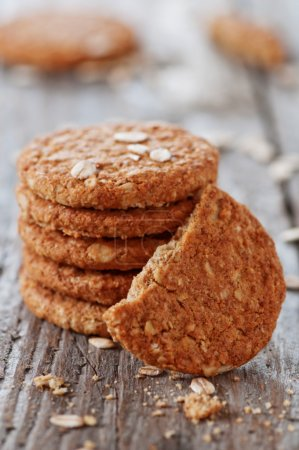 Homemade oatmeal cookie