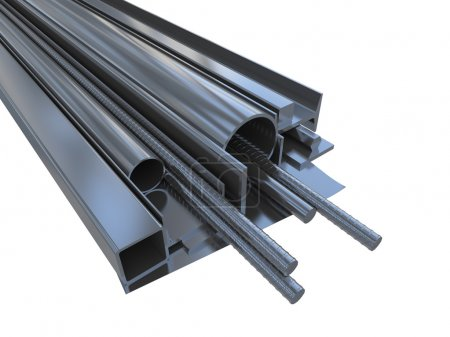 Black rolled metal products