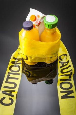 hoher Zucker Orangensaft