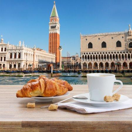 Breakfast at Venice, Italy