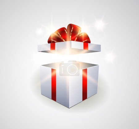 Illustration for Surprise gift box - Royalty Free Image