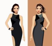 Fashion models-Fashion illustration