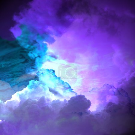 colored skies background