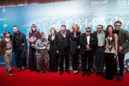 Premiere of the movie Leviathan at Moscow Cinema, January, 28, 2015 in Moscow, Russia