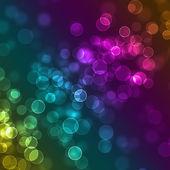 Blurred  sparkles defocused background