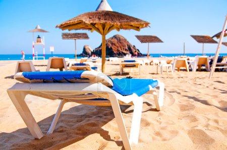 beach lounger