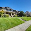 Nice curb appeal of American craftsman style house...