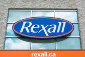Rexall gyógyszertár jel vagy logó