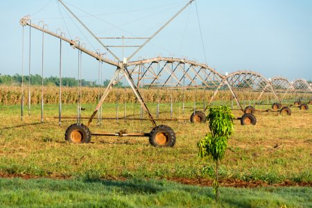 Old irrigation system in Cuba