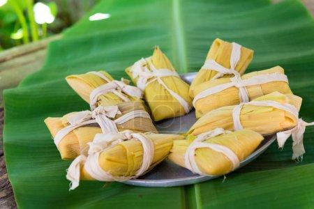 Cuban Cuisine: Tamales or tamal traditional dish