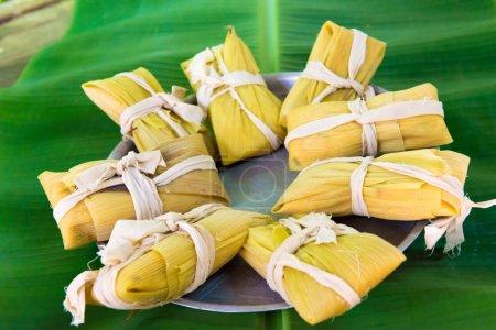 Traditional Cuban tamales
