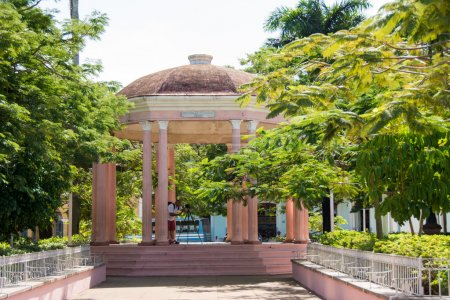 pavillon im plaza isabel ii in