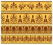 Greek seamless ornaments
