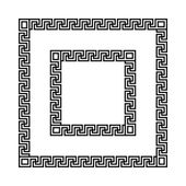 Ancient seamless Greek  frames
