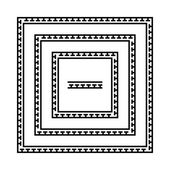Set of meander borders Ancient seamless square Greek key frames Greek national antique meandros lines vector Rectangular pulse