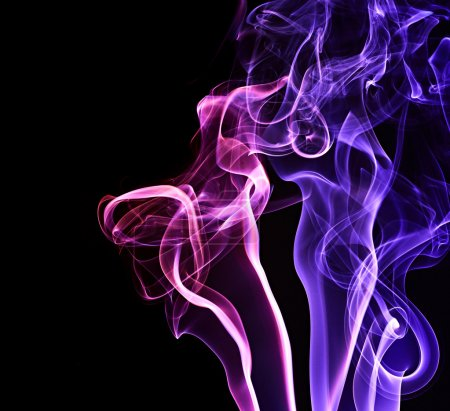 Abstract background. Smoke