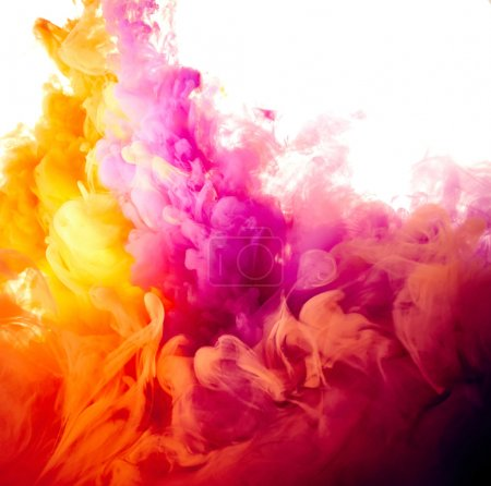 Abstract paint splash