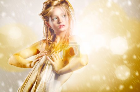 Photo for Portrait of young blonde woman - Royalty Free Image