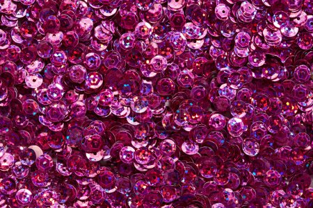 Photo for Shine Purple sequins texture - Royalty Free Image