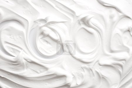 Texture of shaving foam