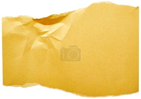 Yellow cardboard background