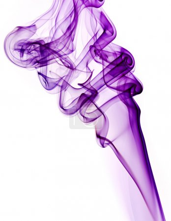 Abstract smoke swirl