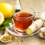 Постер, плакат: Lemon Tea with Ginger Alternative Medicine