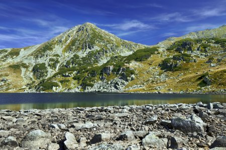 Photo for Beautiful lake landscape in Retezat mountains - Royalty Free Image