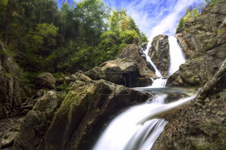 Photo for Amazing waterfall, Lolaia waterfall in National Park Retezat - Royalty Free Image