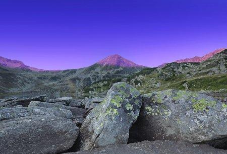 Photo for Beautiful mountain landscape,sunrise over the mountain peak - Royalty Free Image