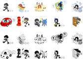 People icons for message