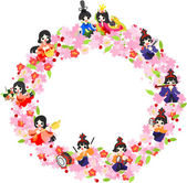 Japanese celebrate the Girls' Festival on March 3 It's the day to pray for healthy growth and happiness for young girls