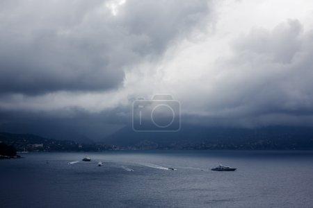 Portofino misty bay
