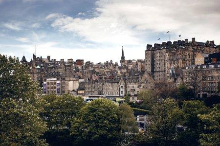 Photo for Edinburgh city view, Scotland - Royalty Free Image