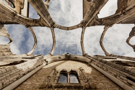 ruins of the Carmo Church