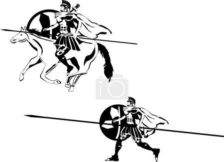 Ancient greece warriors