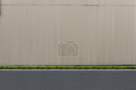 Street wall background ,Industrial background, emp...