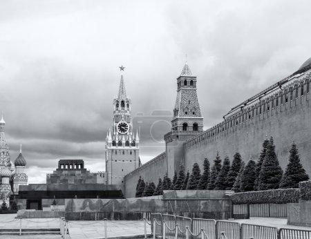 St. Basils Cathedral, Lenins Mausoleum, Spasskaya Tower