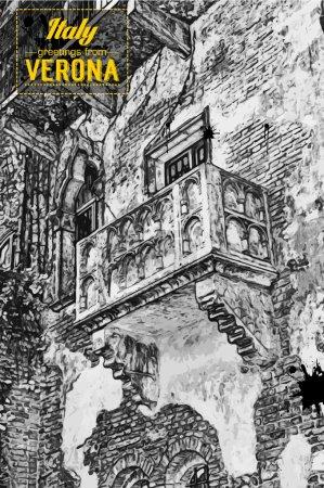 The famous balcony of Romeo