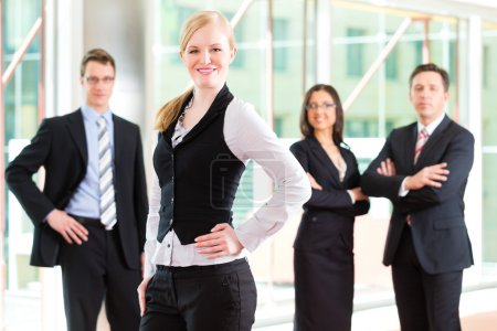 Photo for Business - group of businesspeople posing for group photo in office - Royalty Free Image