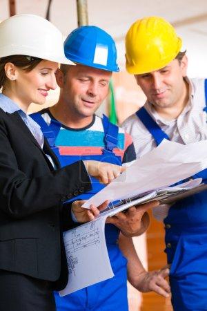 Work Team controlling floor plan
