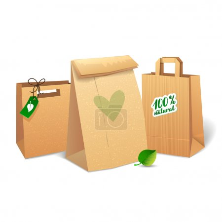 Shopping bags that save the environment