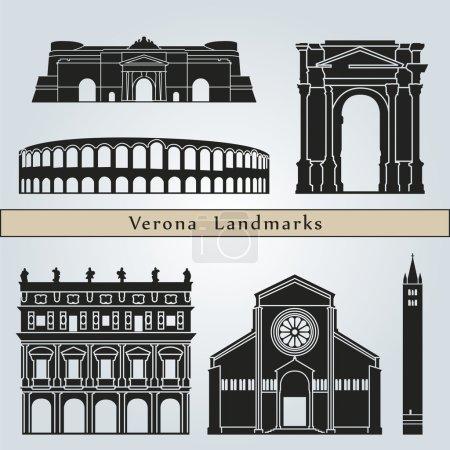 Verona landmarks and monuments
