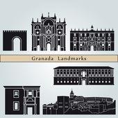 Granada landmarks and monuments