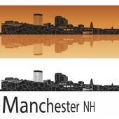 Manchester NH skyline