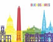 Buenos Aires skyline pop