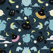 Halloween bat pattern 01