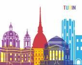 Turin skyline pop