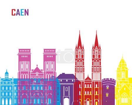 Caen skyline pop